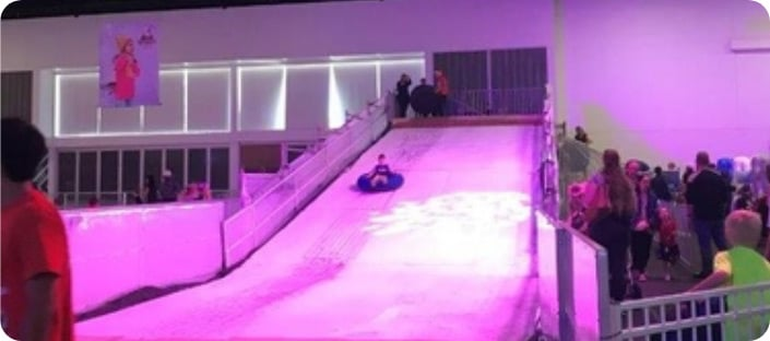 Toboggan Ice Slope