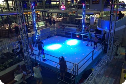 Managed Event with Ice Rink Hire